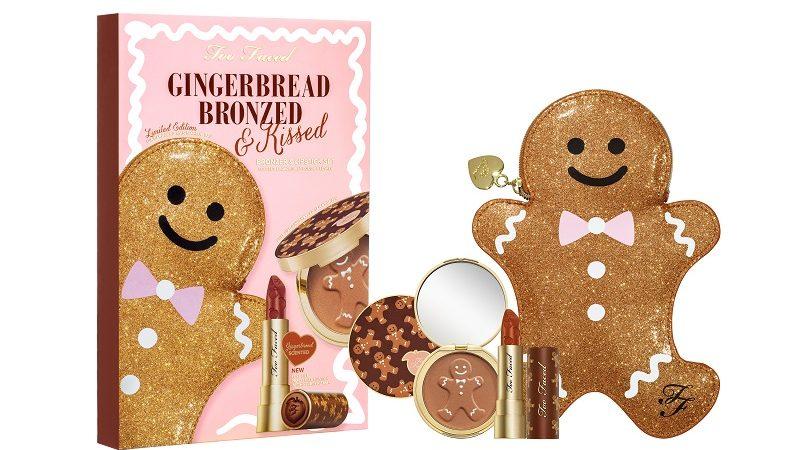 Per Too Faced il Natale è Gingerbread!